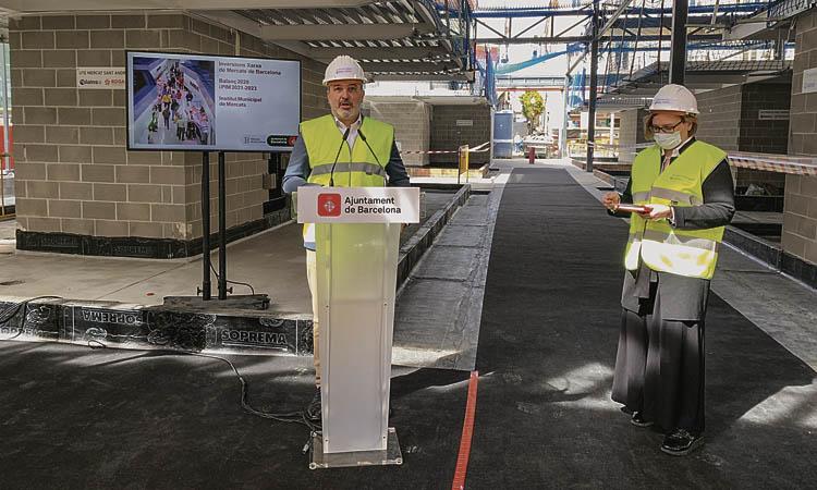 El nou Mercat de Sant Andreu no estarà fet fins a finals d'any