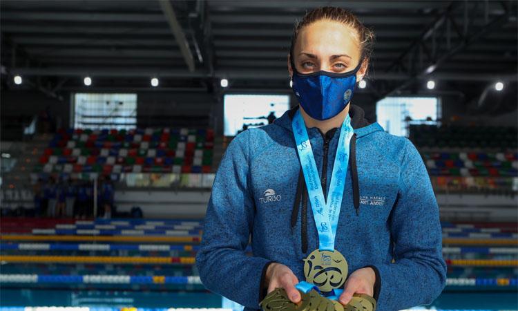 El CN Sant Andreu, campió estatal de natació en piscina curta