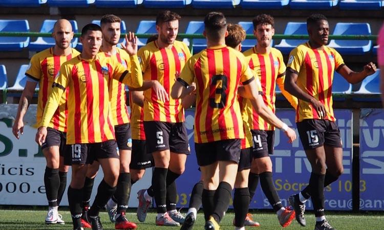 Tres partits i vacances: la UESant Andreu tanca el 2020