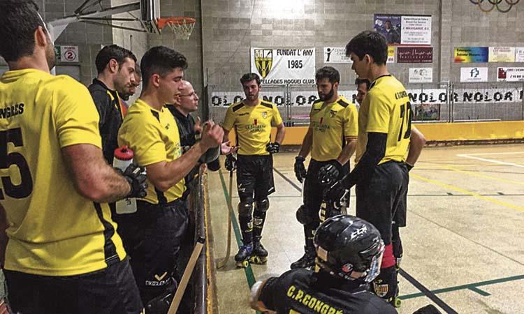 El CPCongrés es manté viu en la lluita pel 'play-off' d'ascens