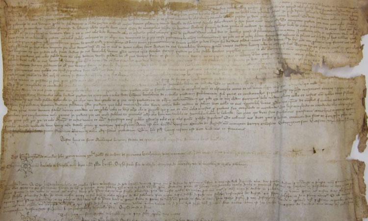 L'Arxiu de Sant Andreu té un nou pergamí medieval