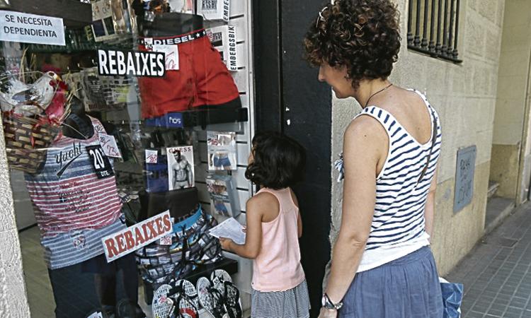 Torna el concurs de paranys als aparadors de l'Eix Sant Andreu