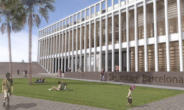 Divisió veïnal per la possible obertura de l'Hermitage a la Barceloneta