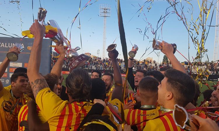 La UESant Andreu guanya la seva segona Copa Catalunya
