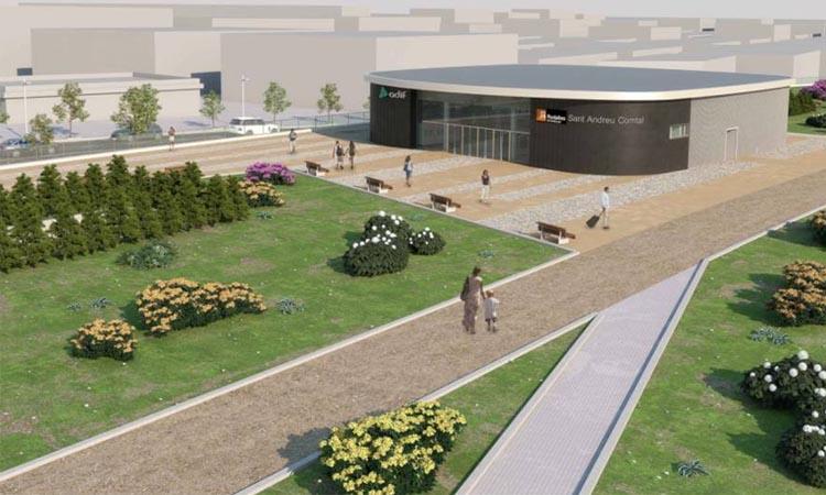 Adjudicades les obres de la nova estació de Sant Andreu Comtal