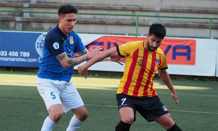 La UE Sant Andreu perd i encara no s'assegura la plaça per al 'play-off'