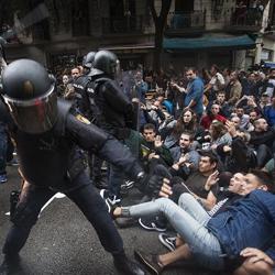 La repressió espanyola