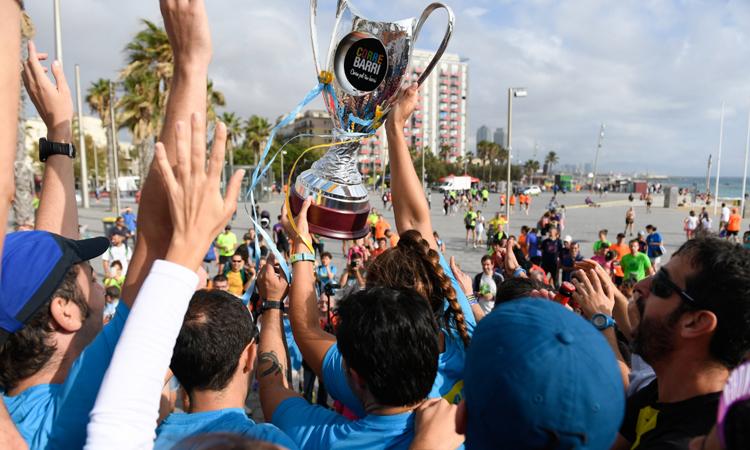 Sant Andreu guanya el Correbarri per quarta vegada