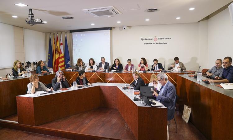 Sant Andreu acull la primera Comissió de Govern itinerant