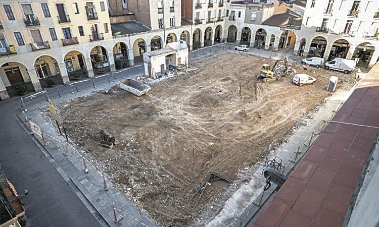 En marxa les obres per fer el nou mercat de Sant Andreu