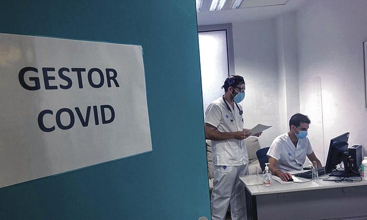 Sant Andreu tanca l'agost amb el coronavirus a l'alça