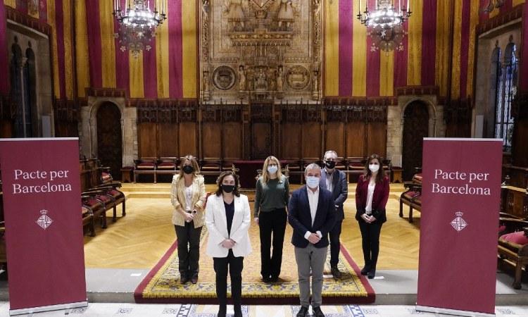 El Pacte per Barcelona tira endavant més de 300 accions contra la crisi
