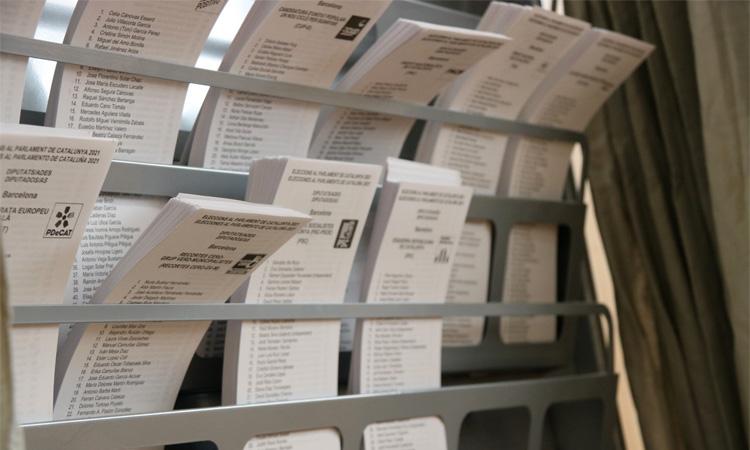 Els districtes més independentistes registren una participació més alta