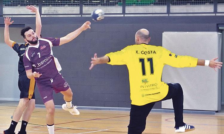 L'Handbol Sant Martí es distancia del segon classificat