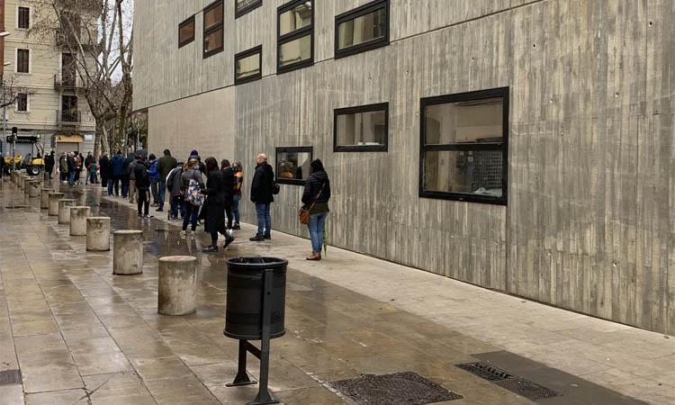 Sant Martí registra un 53% de participació en un 14-F marcat per la pandèmia