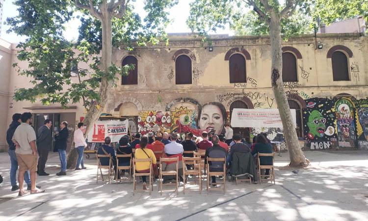 Les entitats tornen a reclamar la rehabilitació de Can Ricart