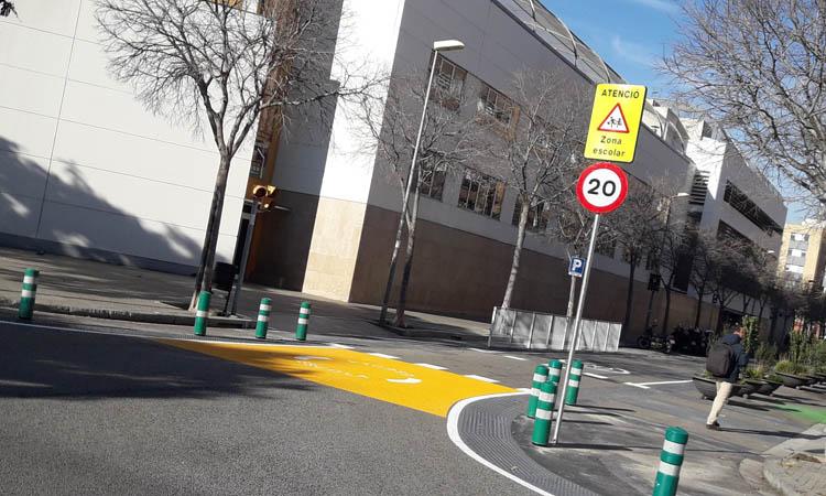 L'Escola Grèvol ja té un entorn segur i amb menys trànsit