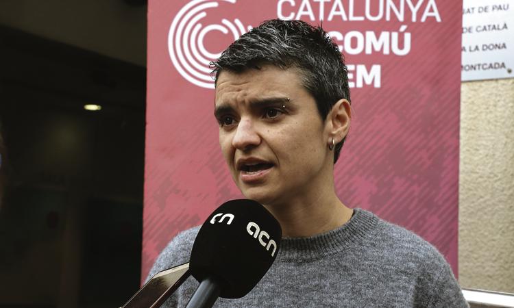 Lucía Martín, regidora provisional del Districte