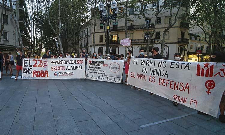 Festa Major del Poblenou: reduïda però reivindicativa