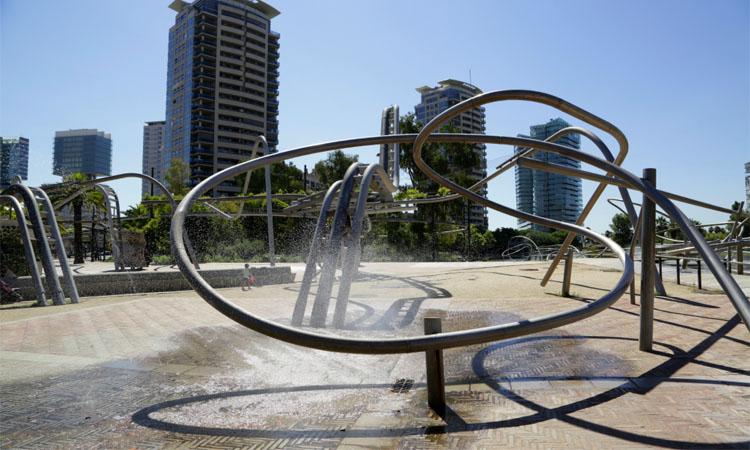 L'extraordinari parc de Diagonal Mar