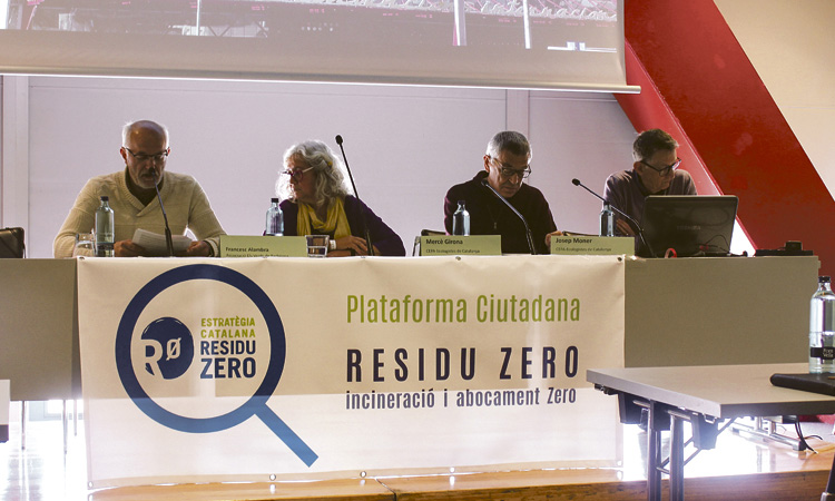 Neix la Plataforma Ciutadana Residu Zero amb l'impuls d'entitats locals