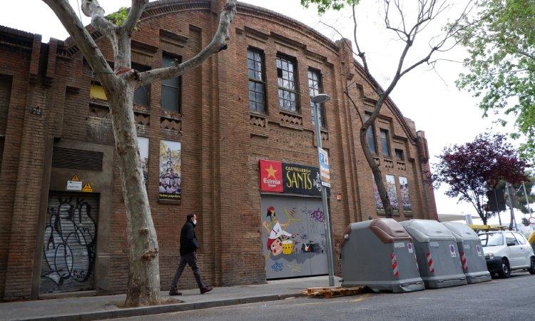 """Castellers de Sants: """"Necessitem un nou local"""""""