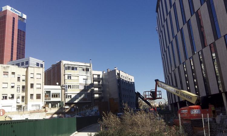 L'obertura del carrer Diputació estarà acabada el mes de maig