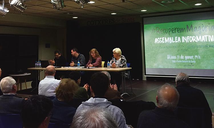 La Taula d'Esports presenta el seu projecte per a Magòria