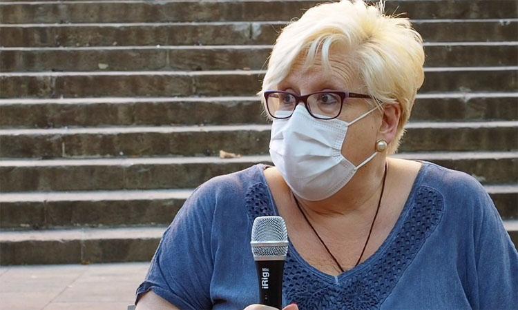 Montserrat Dot deixa la presidència de la UE Sants