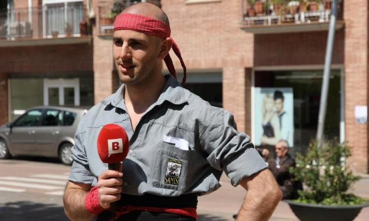 Pau Camprovín (Castellers de Sants), nou president dels castellers catalans