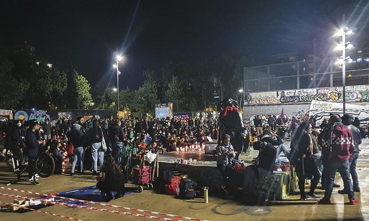 Polèmica per un acte massiu al Parc de les Tres Xemeneies