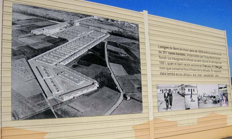 El mural de la història de Baró de Viver
