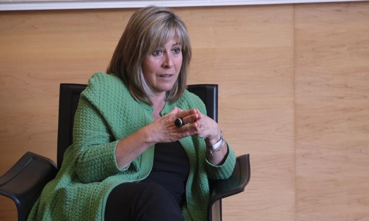 """Núria Marín: """"Crec que la remuntada d'aquesta crisi serà més ràpida"""""""
