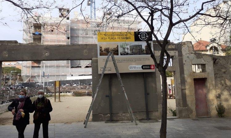 El nom de la futura biblioteca de Sarrià genera debat