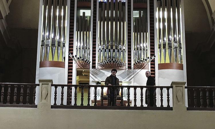 L'església de Sant Vicenç de Sarrià estrena el seu nou i espectacular orgue