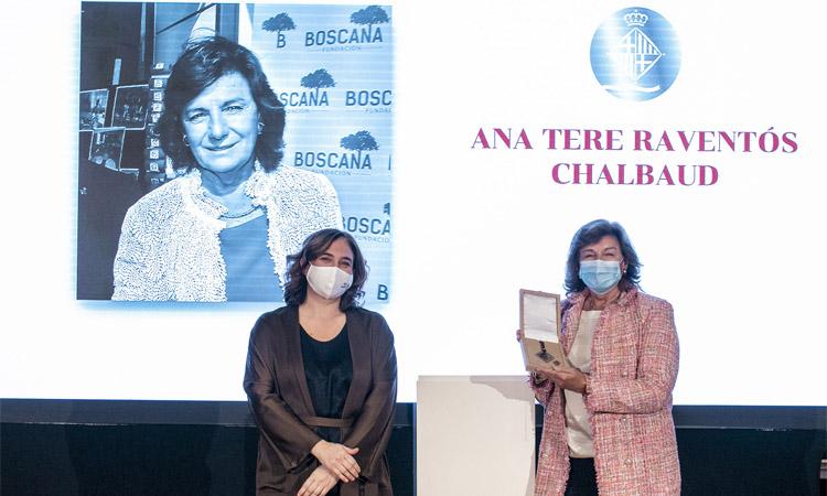 Medalla d'Honor per a Ana Tere Raventós i la Fundació Estimia
