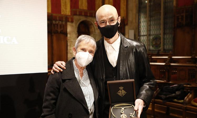 Cesc Gelabert i Anna Maleras reben la Medalla d'Or al Mèrit Cultural