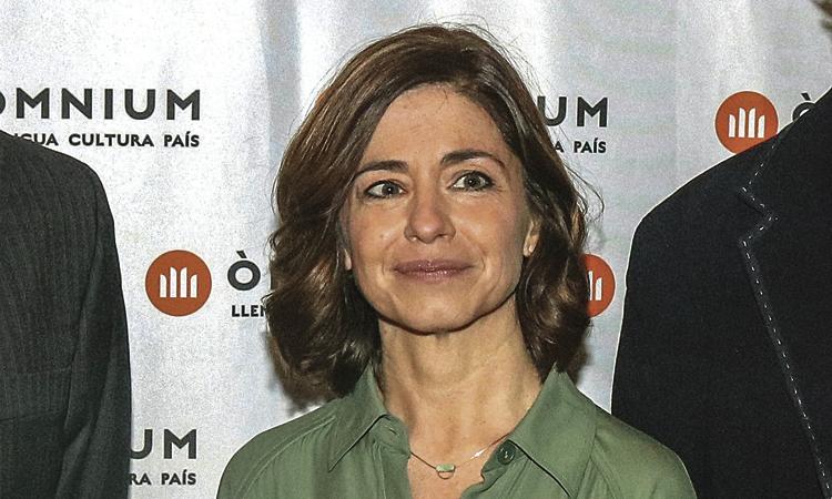 L'escriptora Marta Orriols passa per la Joan Maragall