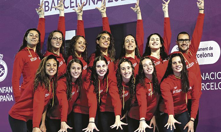 Tres nedadores del Kallípolis, convocades per al Mundial