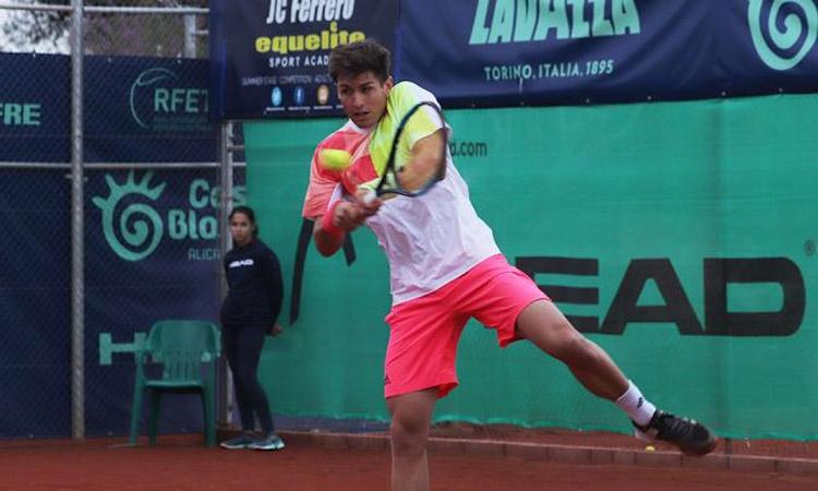 López, del Barcino, guanya l'ITF World Tour de las Palmas