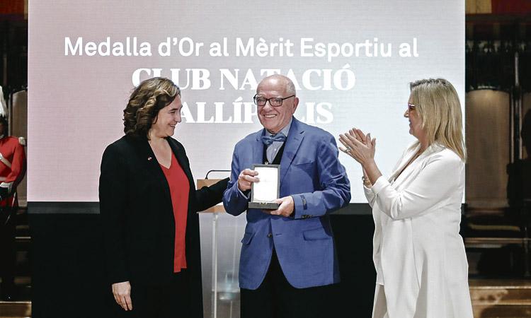 El CNKallípolis, Medalla d'Or al Mèrit Esportiu de la ciutat