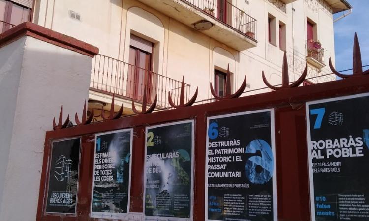 La Casa Buenos Aires necessita 40.000 euros per pagar multes