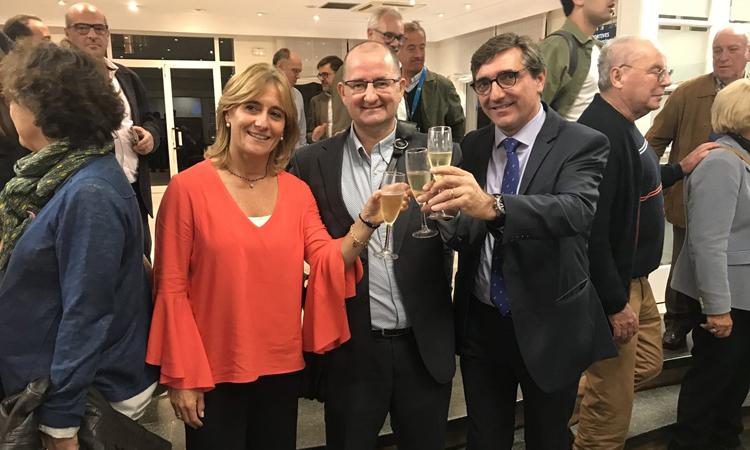 San Martín es converteix en la primera presidenta del Barcino