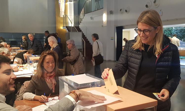 JxCAT recupera Sarrià-Sant Gervasi