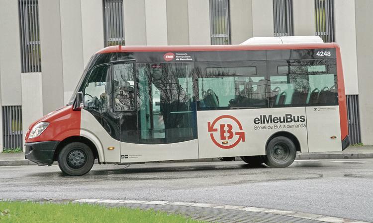 El bus a demanda podria arribar als barris de muntanya