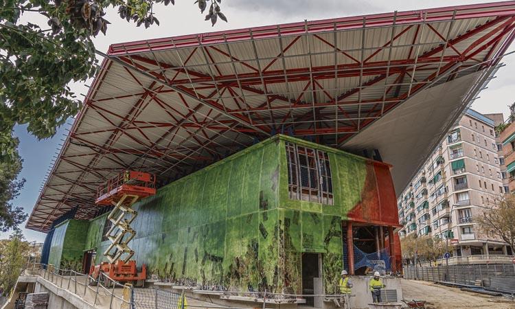 El nou mercat de Can Vidalet obrirà a principis de juny