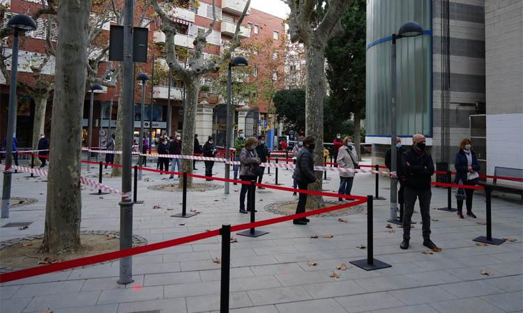 El cribratge massiu troba nou positius a Esplugues