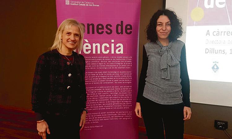 La directora de l'Aeroport reivindica a Esplugues la dona en el sector