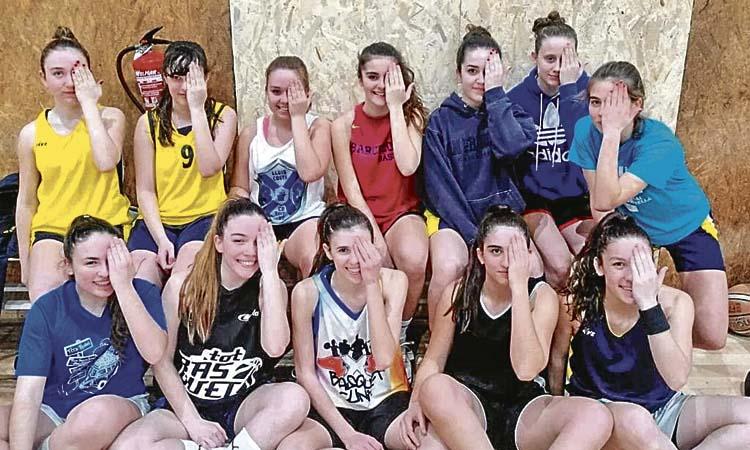 Sant Just fa pinya per la visibilitat de l'esport femení