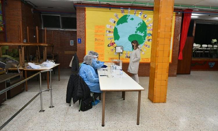 Caiguda de més de vint punts de la participació a Esplugues